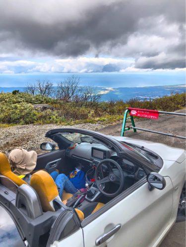 コペンで行く嶽キミ買い出しツアーin岩木山